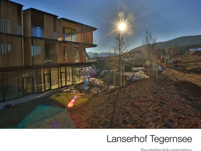 Lanserhof Baustellenbuch