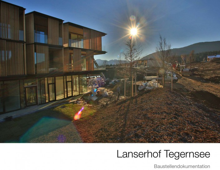 Lanserhof Tegernsee Baustellenbuch