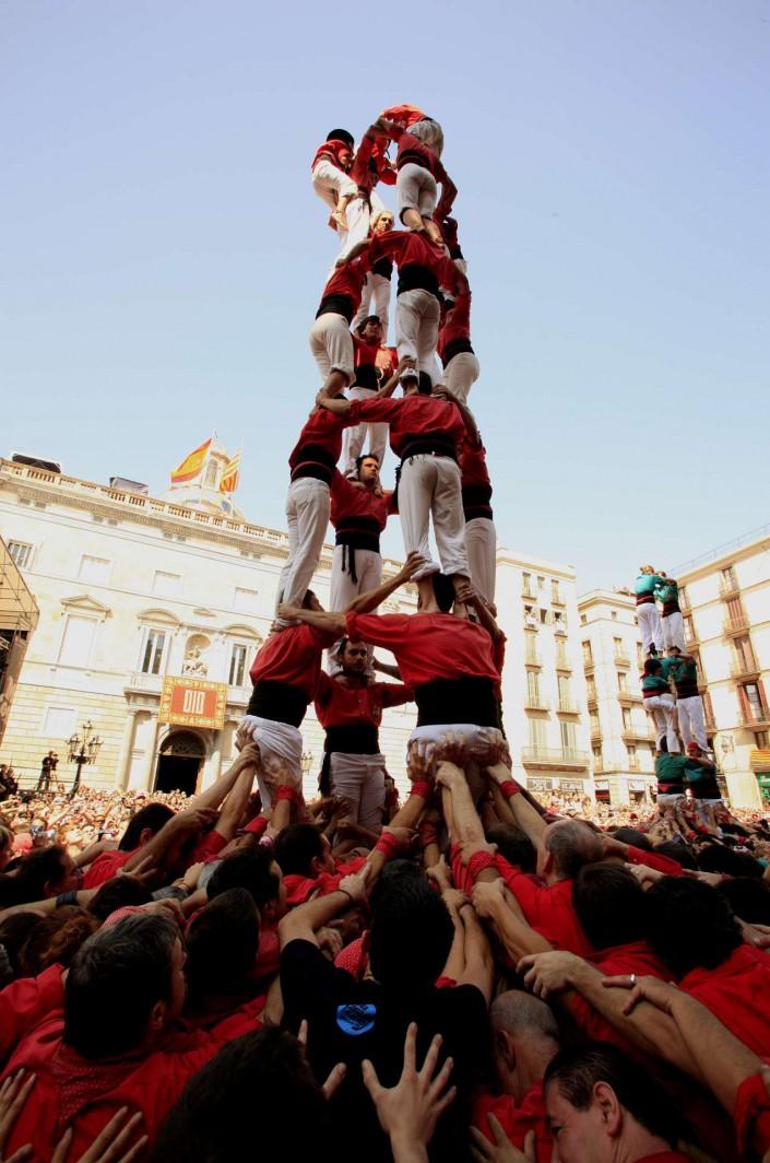 Barcelona Katalonischer Nationalfeiertag