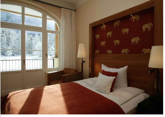 Hotel Elmau, Libretto