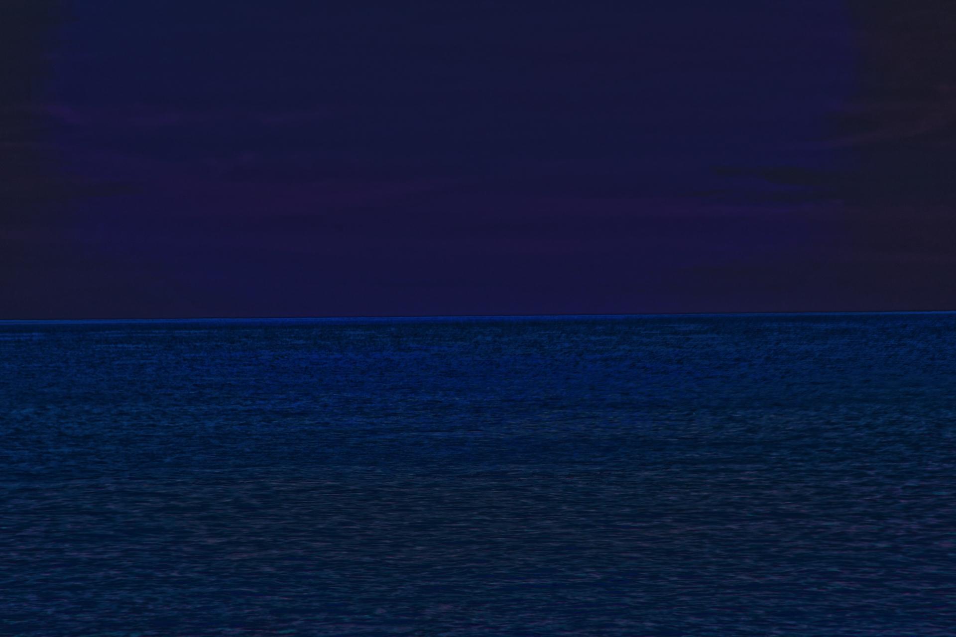 Mittelmeer Sonnenuntergang 2020